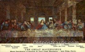rgn001229 - Artist Leonardo da Vinci Postcard Postcards