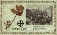 rgn001231 - Market Place, Bethleham, Christmas Greetings, religion, religious, Postcard Postcards