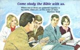 rgn001342 - Matthew 18:20 Religion, Religious, Postcard Postcards