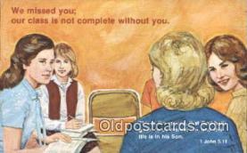 rgn001343 - John 5:11 Religion, Religious, Postcard Postcards