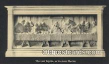 rgn001352 - The last Supper, Vermont Marble Religion, Religious, Postcard Postcards