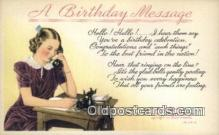 A birthday Message
