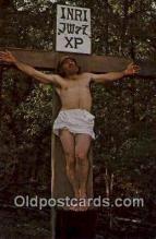 rgn100001 - The Great Passion Play, Eureka Springs, Arkansas, Religion, Religious Postcard Postcards