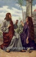 rgn100004 - Crist and the Magdalene, Religion, Religious Postcard Postcards