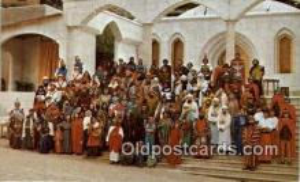 rgn100008 - The Great Passion Play, Eureka Springs, Arkansas, Religion, Religious Postcard Postcards