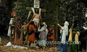 rgn100009 - The Great Passion Play, Eureka Springs, Arkansas, Religion, Religious Postcard Postcards