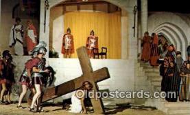 rgn100010 - The Great Passion Play, Eureka Springs, Arkansas, Religion, Religious Postcard Postcards