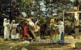 rgn100014 - The Great Passion Play, Eureka Springs, Arkansas, Religion, Religious Postcard Postcards