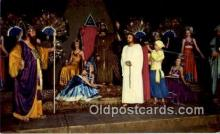 rgn100017 - Jesus before King Herod, Black Hills Passion Play, Religion, Religious Postcard Postcards