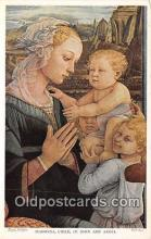 Madonna, Child, St John & Angel