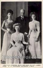 roy001008 - Princess Royal, Duke of Fife, and children British Royalty Postcard Postcards