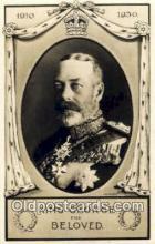 roy001016 - King George British Royalty Postcard Postcards