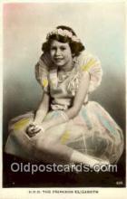 roy001027 - Princess Elizabeth British Royalty Postcard Postcards