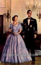 roy001048 - Queen Elizabeth II & Duke of Edinburgh British Royalty Postcard Postcards