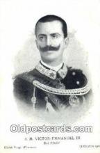 roy001050 - Victor Emmanuel III British Royalty Postcard Postcards