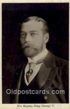 roy001054 - King George V  British Royalty Postcard Postcards
