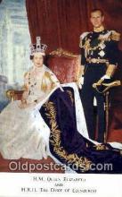 roy001059 - Queen Elizabeth II & Duke of Edinburgh British Royalty Postcard Postcards