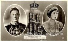roy001065 - King George VI and Queen Elizabeth British Royalty Postcard Postcards