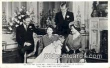 Princess Elizabeth, Duke of Edinburgh, & Prince Charles