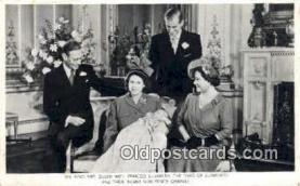 roy001066 - King, Queen, Princess Elizabeth, Duke of Edinburgh, & Prince Charles British Royalty Postcard Postcards