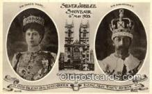 roy001067 - Queen Mary & King George V British Royalty Postcard Postcards