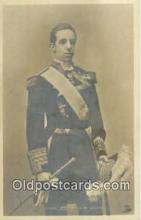 roy001101 - Alfonzo XIII, King of Spain Royalty Postcard Postcards