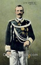 Victor Emmanuel III, King of Italy