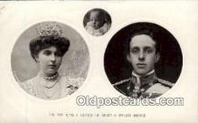 roy001118 - King and Queen of Spain Royalty Postcard Postcards