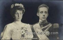 roy001120 - King and Queen of Spain Royalty Postcard Postcards