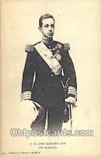 roy050010 - S.M. Don Alfonso XIII Misc. Royalty & Leaders Postcard Postcards