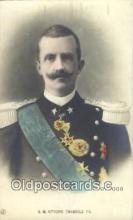 roy050017 - S.M. Vittorio Emanuele III Misc. Royalty & Leaders Postcard Postcards