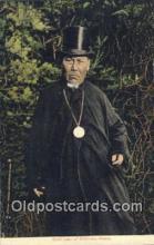 roy050020 - Chief Jake of Killisnoo, Alaska, USA Misc. Royalty & Leaders Postcard Postcards