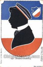 roy050031 - Cps. Rhenania-Heidelberg Misc. Royalty & Leaders Postcard Postcards