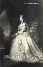 roy050046 - No. Caelota Amalia Misc. Royalty & Leaders Postcard Postcards
