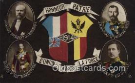 roy050063 - L'union Fait La Force Misc. Royalty & Leaders Postcard Postcards
