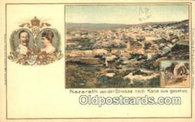 roy050073 - nazareth von de Strasse nach Kana aus Gesehen Misc. Royalty & Leaders Postcard Postcards