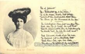 roy050075 - Prinzessin Luisa von Zoskana Misc. Royalty & Leaders Postcard Postcards