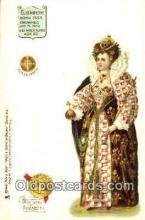 roy100007 - Elizabeth Kings & Queens of England,  Raphael Tuck & Sons Series 616, Postcard Postcards