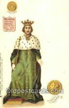 roy100008 - Richard II Kings & Queens of England,  Raphael Tuck & Sons Series 616, Postcard Postcards