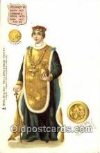 roy100013 - Henry VI Kings & Queens of England,  Raphael Tuck & Sons Series 616, Postcard Postcards