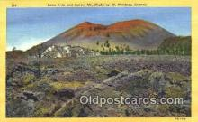 rts001005 - Lave Beds, Northern Arizona, USA Route 66, RT. 66, Postcard, Postcards