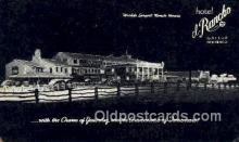 rts001044 - Hotel El Rancho, Gallup New Mexico, USA Rt. 66 Postcard Postcards