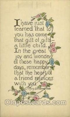 say001157 - Author Mary Estabrook Hale Sayings, Quotes, Postcard Postcards