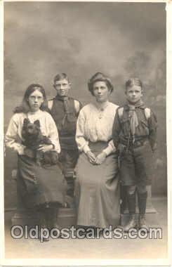 sct000016 - Scout Scouts Postcard Postcards