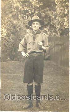 sct000024 - Scout Scouts Postcard Postcards