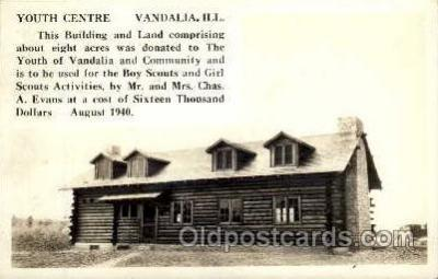 sct000054 - Vandalia, Ill. USA, Youth Centre, Boy & Girl Scouts, Scout, Scouting, Postcard Postcards