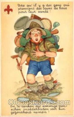 sct000083 - Boy & Girl Scouts, Scout, Scouting, Postcard Postcards