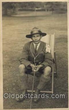 sct000092 - Boy & Girl Scouts, Scout, Scouting, Postcard Postcards