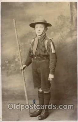 sct000093 - Boy & Girl Scouts, Scout, Scouting, Postcard Postcards