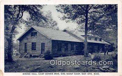 Dining Hall, Camp Bonnie Brae, Girl Scout Camp